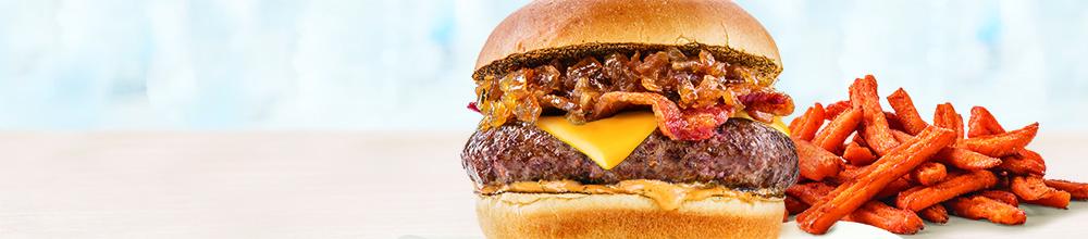 Maple Onion Burger